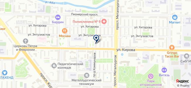 Сибирский Свет, ООО на карте