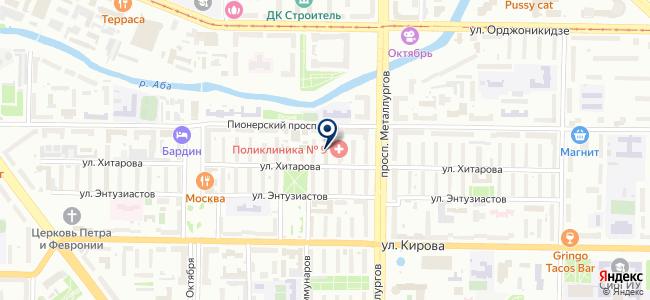ЮКТК, ЮжноКузбасская Торговая Компания на карте