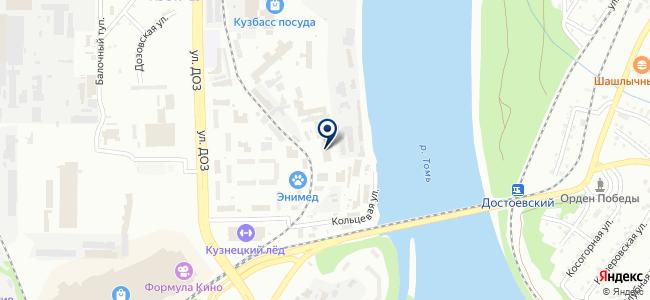 Росскабель на карте