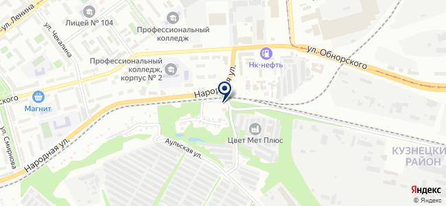 Автобам-НК на карте