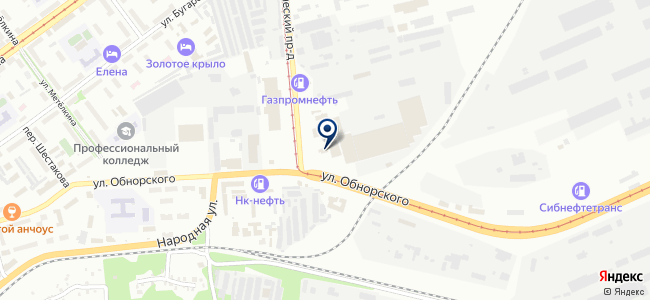 Электродвигатель-НК, ООО на карте