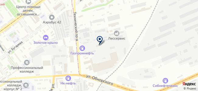 Кузнецкая торгово-экономическая компания, ООО на карте