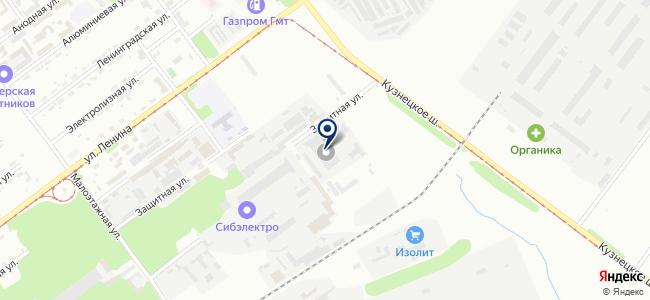 НРК на карте
