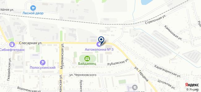 ПассажирАвтоТранс, ОАО на карте