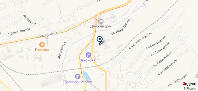 СТО на ул. Новостройка, 39 на карте