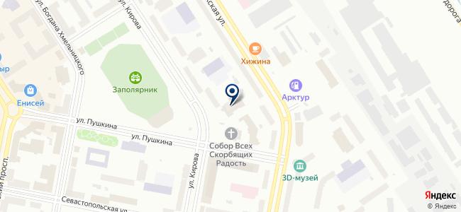 Норильский свет, магазин электротехники и крепежа на карте