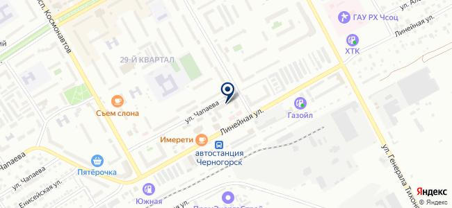 Черногорская строительная компания, ООО на карте