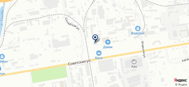 Горностроительный комплект на карте