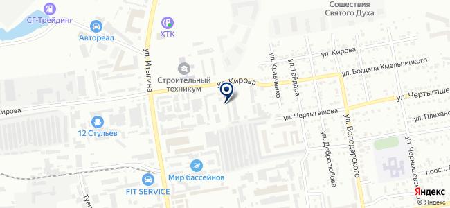 Магазин профинструмента на ул. Итыгина, 26е на карте