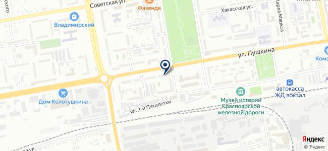Ультра Снаб на карте