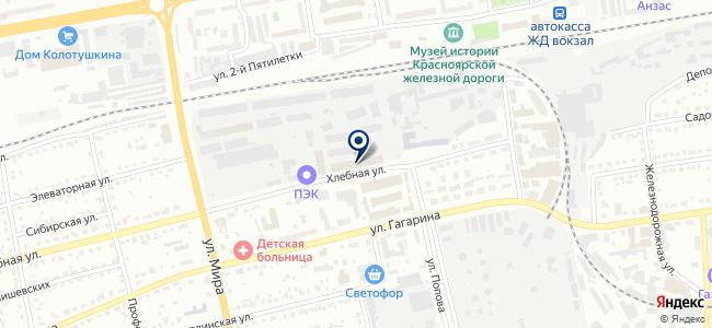 Региональный центр снабжения на карте