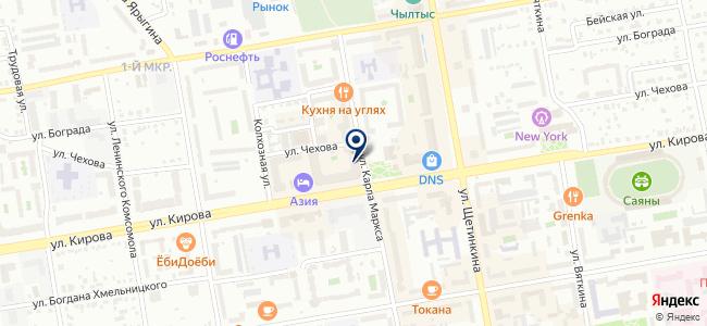 Теплофф на карте