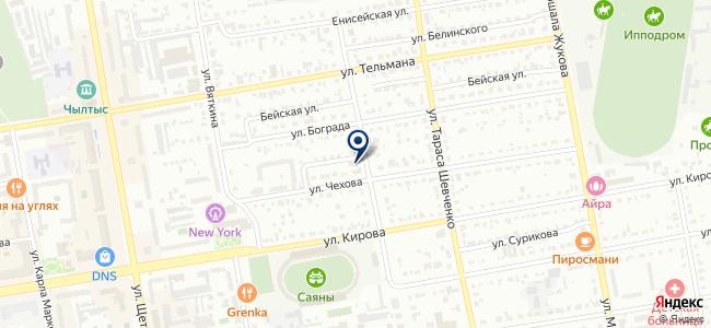 Единая Сервисная Служба Абакана, ООО на карте
