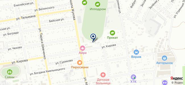 Автосервис на ул. Кирова, 20а на карте