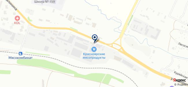 Кратон на карте