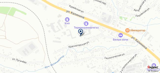 Антарис, ООО на карте