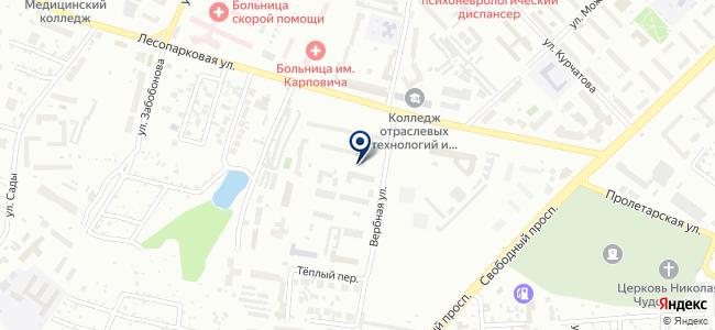 СВС-Красноярск, ООО на карте