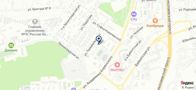 Интас, ООО на карте