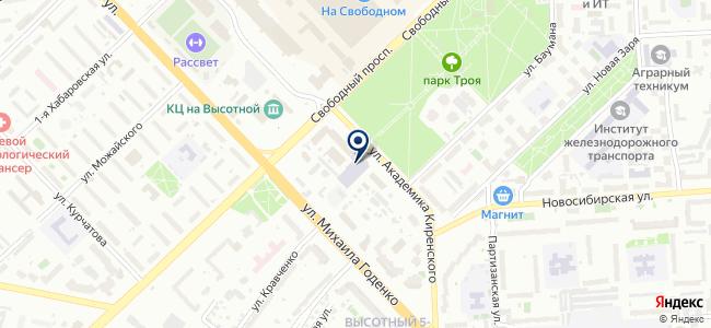 Краспромавтоматика, ЗАО на карте