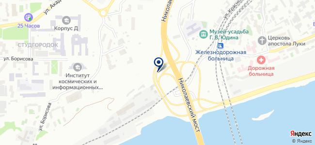 Красспецналадка, ООО на карте
