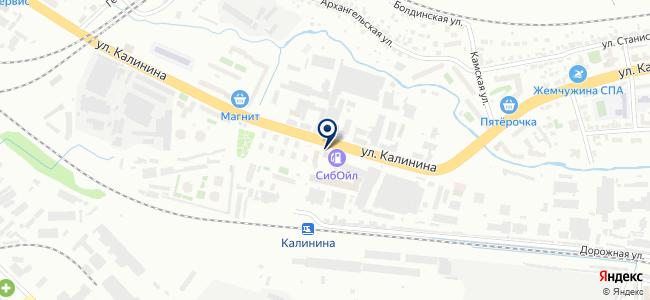 Авто-Партнер Сибирь на карте