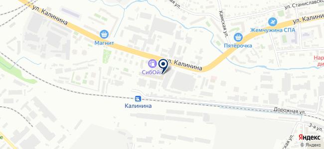 Электро+ на карте