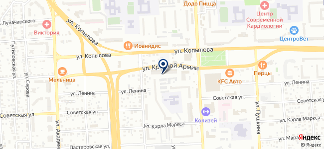 Электромир на карте
