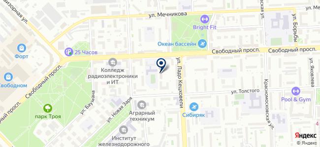 Аркада 21, ООО на карте