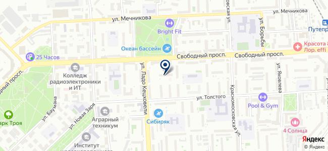 Солар, ООО на карте