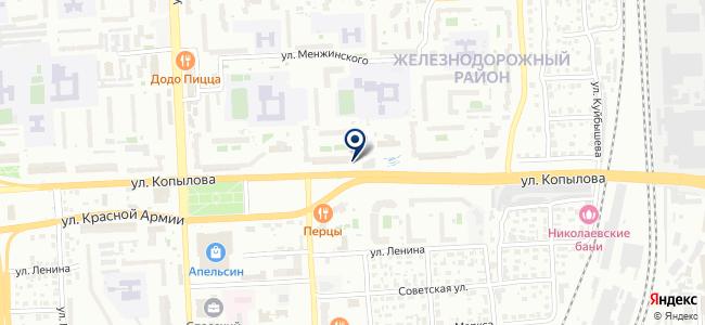 Климат Сибири, ООО на карте