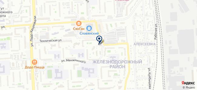 Хозмен на карте