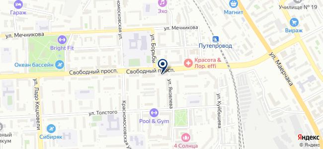 Горсеть, ООО на карте