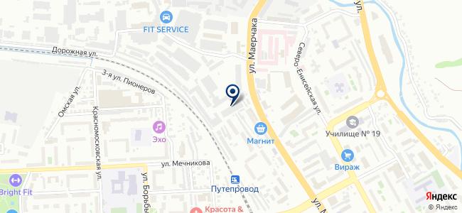 Автоматика и теплоучет, ООО на карте
