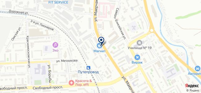 Горизонт, ООО на карте