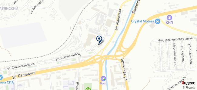 Уральский металлургический комбинат на карте