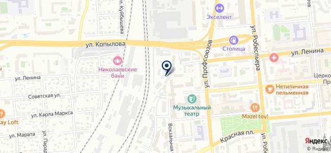 CD-сервис на карте