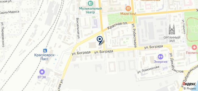 КРИС, ЗАО на карте