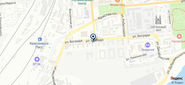 ЕнисейСтрой, ООО на карте