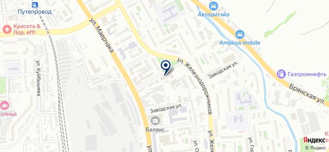 РИО-Импорт на карте