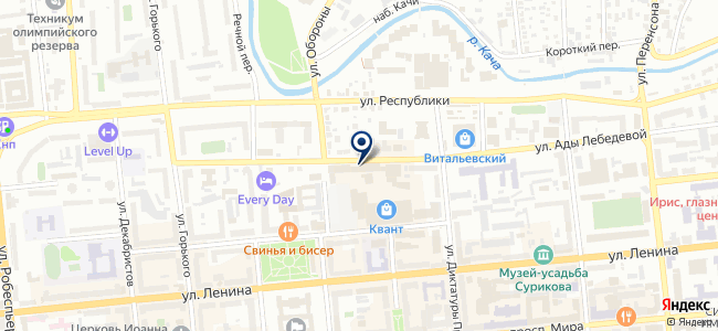 Городок, ООО на карте