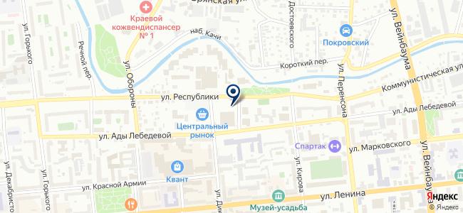 Хрустальный шар на карте