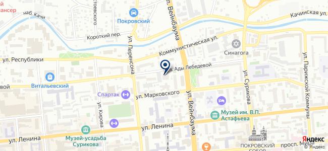Красноярскстройэлектропроект, ООО на карте