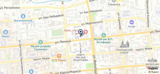 СибКлимат на карте