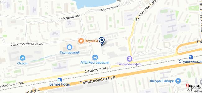 МПМ Сибирь, ООО на карте