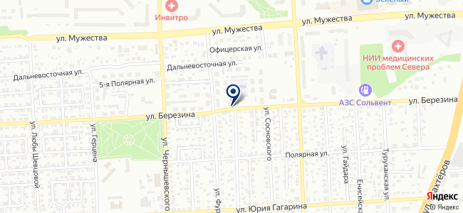 Красбытсервис, ООО на карте