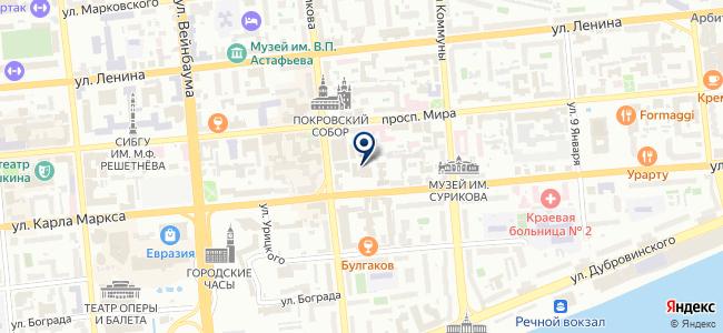 Гарант-Красноярск, ООО на карте