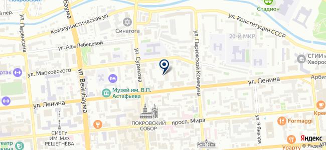 Интертек Корпорейшн на карте