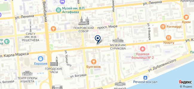 Производственно Торговая Компания Регионсервис, ООО на карте