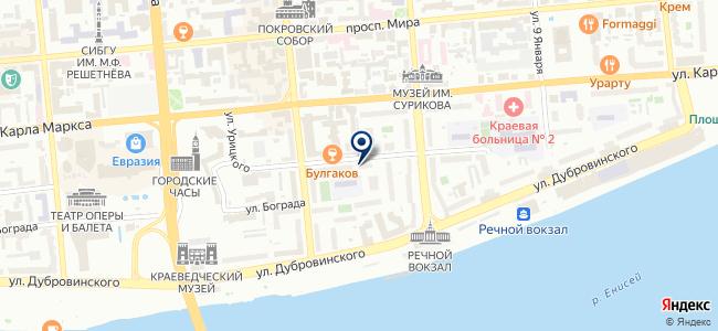 Домашний мастер, ООО на карте