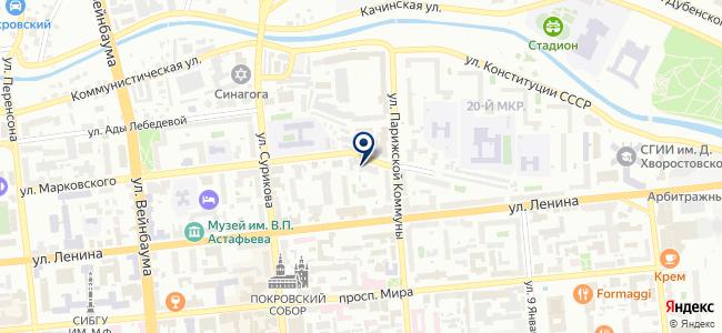 НАНОКЛИМАТ на карте